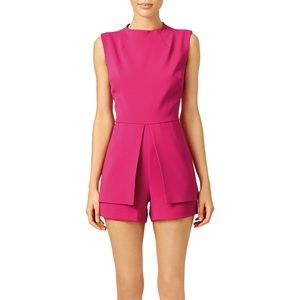 Laundry be shelli segal fuschia pink romper